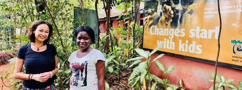 Educatie Sierra Leone Blog Thumbnail 785x295   Rowena Goes Ape